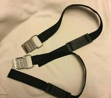 Dive Rite Stainless Steel Cam Band Straps w/retainers Bc2035 Scuba Tank 2 total