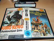 BETA Doppeltape Rarität - Der unbezwingbare Mönch & King Kong Frankensteins Sohn
