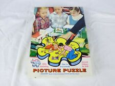 Vtg 50s Tuco Picture Puzzle Jigsaw Advance Childrens A Class in Safety COMPLETE
