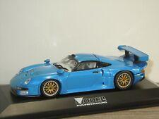 Porsche 911 GT1 Street - Modell Fahrzeug Edition - Minichamps 1:43 in Box *41127