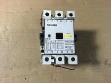 Siemens Contactor, 3TF46, 230v coil, up to 50hp rating, 600vac