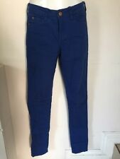 """Colour Cotton On"" Royal Blue Colored Jeans (Size USA 4)"