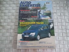 REVUE AUTO EXPERTISE CARROSSERIE VW TOURAN MONOSPACES ESSENCE ET DIESEL