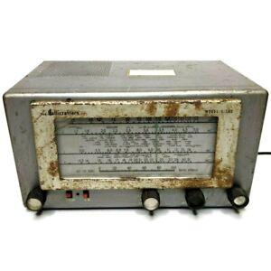Hallicrafters S-38D Parts / Repair Shortwave Radio Receiver Vintage F3