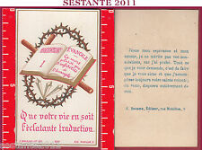 3281 SANTINO HOLY CARD MORT PLUTôT INFIDéLTé EVANGILE BOUASSE JEUNE 399 MABILLON