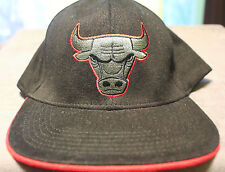 NEW Chicago Bulls Black-Red-Gray Adjustable Unisex Adult Embroidered Hat
