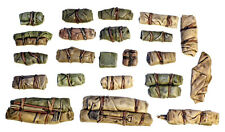 1/35 Scale resin kit Tents & Tarps Set  #10 Military model accessory / stowage