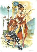 Félix Meynet ex libris BDSM fetish n°5 Le Moulin Rouge