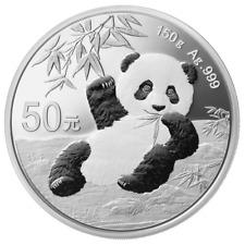 China - 50 Yuan 2020 - Panda - 150 Gramm Silber PP - Im Etui
