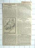 1927 Lewes Castle, Determined Opposition To Provide New Building, Map Plan