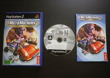 MICRO MACHINES : JEU Sony PLAYSTATION 2 PS2 (Micromachines COMPLET envoi suivi)