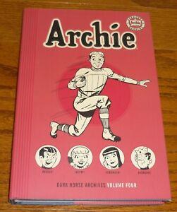 Archie Archives Volume 4, OPENED, Dark Horse Comics HC Archie #11-14 Pep # 51-53
