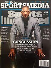 Will Smith (December 28th 2015) No Label Sports Illustrated SI Magazine