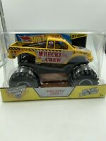Hot Wheels Monster Jam Wrecking Crew Off-road Vehicle, 1:24 Scale 2014