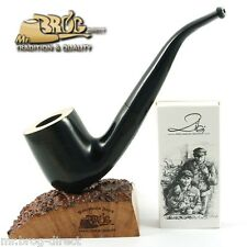 Mr.Brog original smoking pipe nr. 38 black - white top *OLD BOY* HAND MADE IN EU