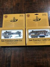 2 HO Scale,  Bachmann San Francisco Cable Cars