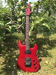 E-Gitarre Hohner ST Ferari Professional Pearl Red
