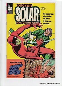 Doctor Solar 30 Whitman Comics 1981 High Grade Magnus Robot Fighter!