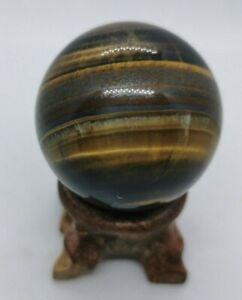 Tigers Eye Sphere 120gm, 42.6mm