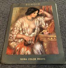 VINTAGE SKIRA Renoir Color Prints Booklet