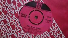 PETULA CLARK - THIS IS MY SONG 1967 PYE 45