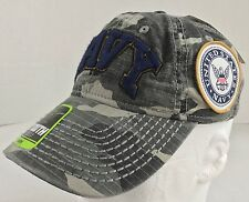 United States Navy Patch Gray Camouflage Boys Youth Baseball Cap Hat Strap Back