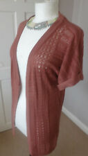 E-Vie Womens Long Cardigan Size UK 10 EU 38