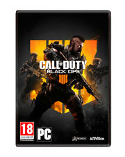 JUEGO  ACTIVISION  PC GAME  CALL OF DUTY BLACK OPS 4  NUEVO (SIN ABRIR)