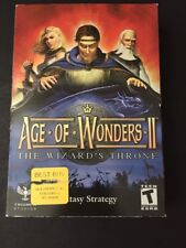 Age of Wonders II: The Wizard's Throne (PC, 2002) NEW