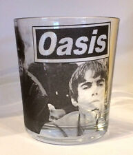 OASIS Liam and Noel Gallagher FRUIT JUICE/WHISKY GLASS mixer glass