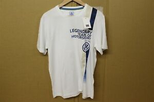 VW Years of Motor Sport Mens T-Shirt Large 5NG084200C23A New Genuine Merchandise