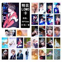30pcs/set KPOP Bangtan Boy V Love Yourself Photo Card Lomo Card