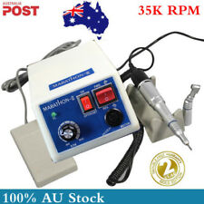 Dental Marathon Micromotor Elctric motor 35K RPM machine+Handpiece Lab Equipment