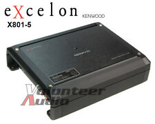 Kenwood Excelon X801-5 Class D 5 Channel Amplifier 1200 Watt max Amp