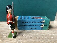 Britains: Boxed Picture Pack Set 29B - Gordon Highlander Marching. c1955