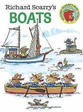 Richard Scarry's Boats by Richard Scarry (Board book, 2015)