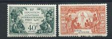 Cote d'Ivoire N°84* et 86* (MH) 1931 - Exposition coloniale de Paris