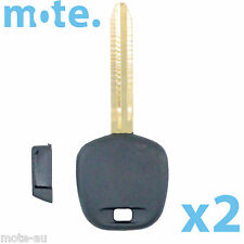 2 x Toyota Camry Key Blank Replacement Shell/Case/Enclosure