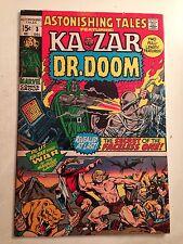 Astonishing Tales #3/Dr. Doom & Ka-Zar/Bronze Age Marvel Comic/FN+