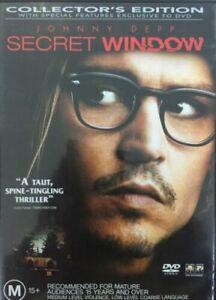 Secret Window : New Old Aus Stock : NEW DVD