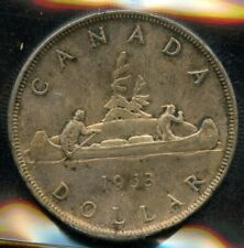 1953 NSF Canada $1 Silver Dollar ICCS MS-63 Cert #XQE270