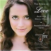 The Power of Love - Arias from Handel Operas, Amanda Forsythe, Apollo's Fire &,