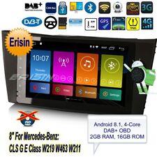 Mercedes Autoradio Android 8.1 CLS G E Class W219 W463 W211 TNT DAB+TPMS BT 2881