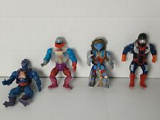 He-Man 1980's MASTERS OF THE UNIVERSE MOTU Vintage Action Figures LOT