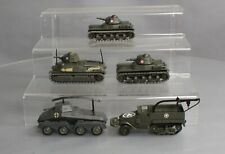 Solido Die-Cast Military Tank Cars (5)