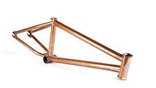 """FIT WIFI V.2 COPPER GODDESS FRAME 21.25 BMX BIKE CO 21.25"""" V2 BIKES USA S&M GOLD"""