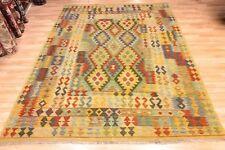Yellow Multi Handmade Afghan Tribal Chobi Kilim Wool Rug XL 205x305cm 60 off