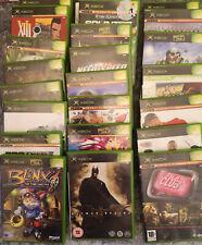 Original Jeux Xbox-DIVERS TITRES-revenez souvent pour de plus additions