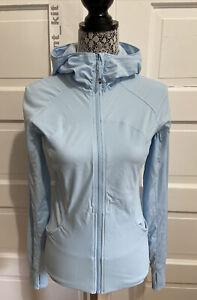 RARE Lululemon In Flux Jacket Size 8 Caspian Blue