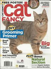 Cat Fancy magazine DIY grooming Brush guide Glossy coat Nail trimming Natural